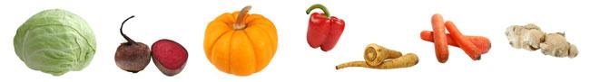 """Сокотерапия """"Син"""" - рецепты овощных соков."""