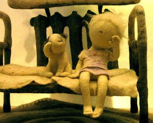 Чебурашка - часто болеющий ребёнок