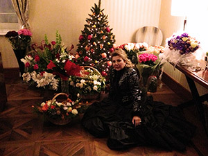 Maria Guleghina Новогоднее поздравление