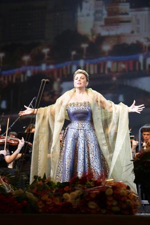Мария Гулегина в Кремле