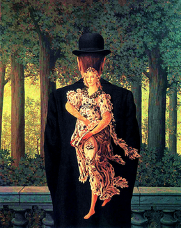 Ren? Magritte Le bouquet tout fait