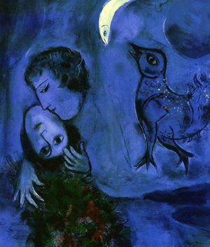 Marc Chagall Paysage bleu