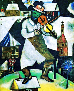 Fiddler on the Roof by Marc Chagall