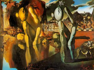 Сальвадор Дали и его Метаморфозы Нарцисса