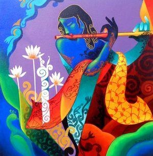 Playful Melody by Rajesh Shah