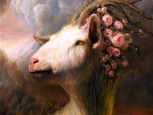 Коза Амальтея - кормилица Зевса