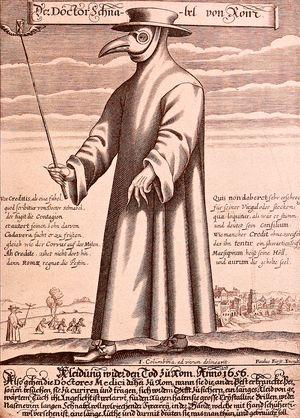 Paul Fürstin kaiverrus Doktor Schnabel von Rom