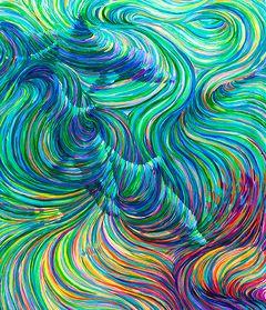 Dolphin 2 by Julia Watkins