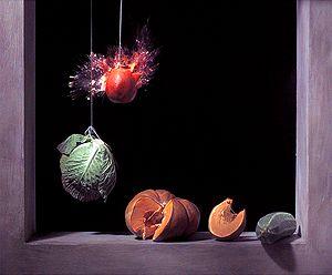Ori Gersht - Pomegranate