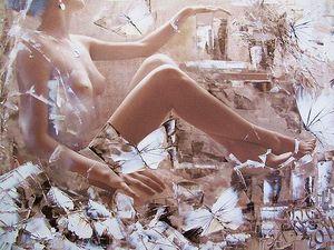 Дмитрий Кустанович картина из серии Бабочки